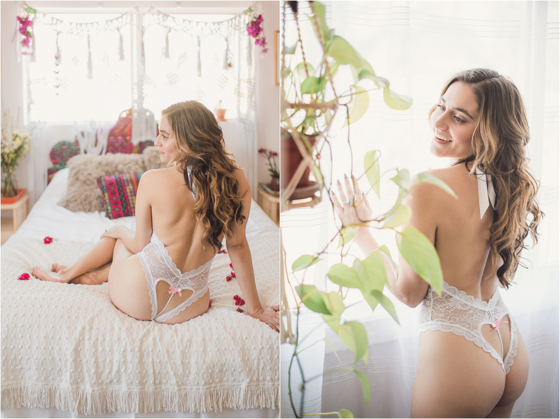 Kendra // Romantic Bridal boudoir photography in Los Angeles