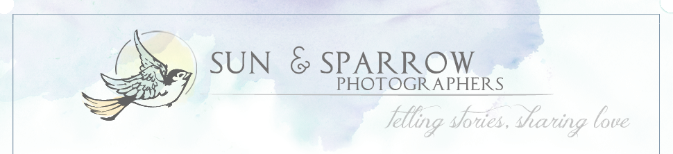 Sun & Sparrow  //  Telling Stories, Sharing Love logo