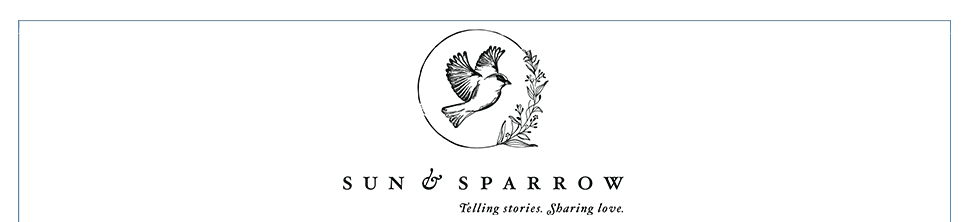 Sun & Sparrow  //  Los Angeles and Santa Barbara Luxury wedding photographer, wedding videographer logo
